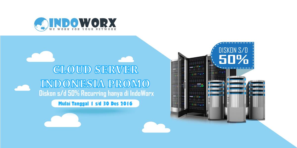 Promo Peluncuran Cloud Server Indonesia Diskon Sampai Dengan 50%!!