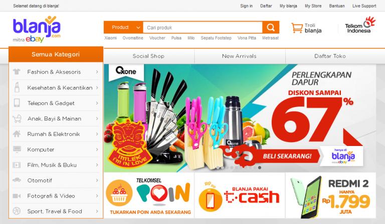 13 Toko Online Terbaik dan Terpercaya di Indonesia - Indoworx