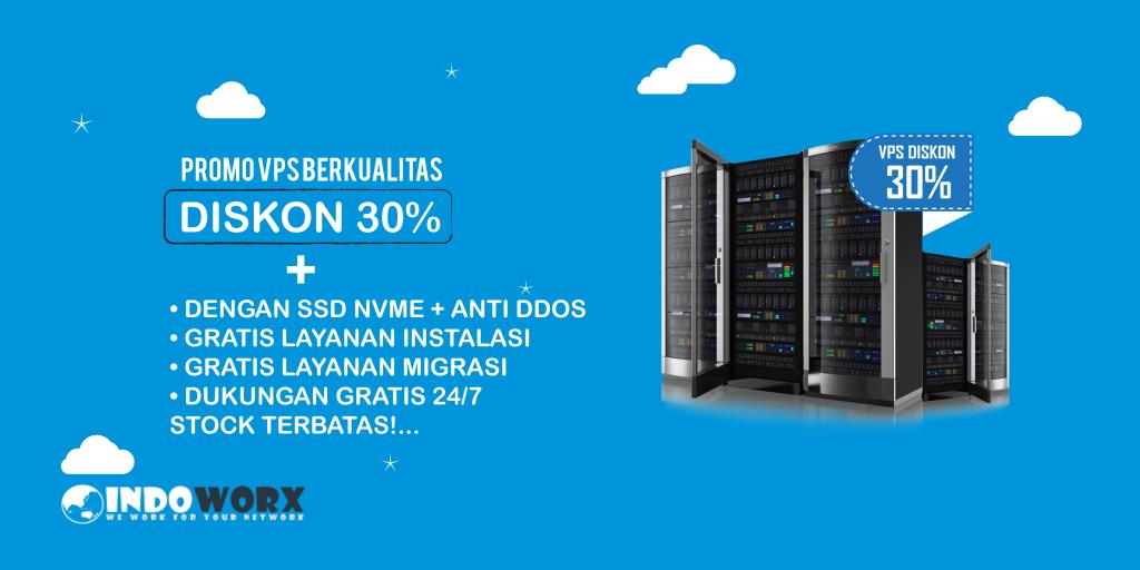 Promo VPS Singapura Diskon 30% VPS Dengan SSD NVMe dan Anti DDoS