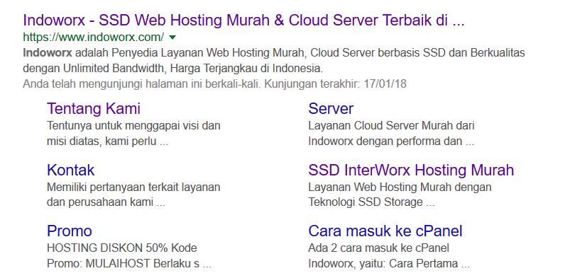 Apa Itu Google Sitelink dan Apa Fungsinya?