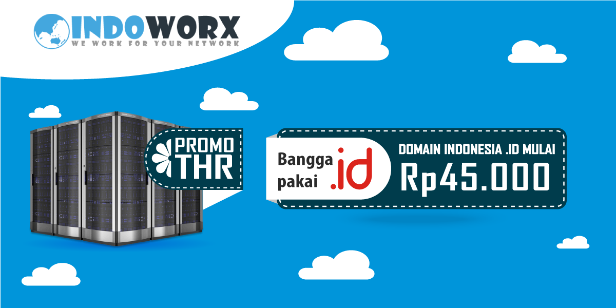 Promo Domain Indonesia Murah (.id) Mulai 45.000