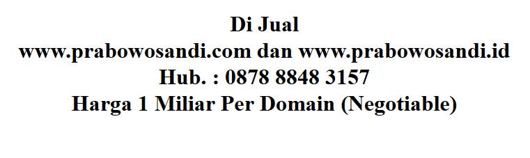 Prabowosandi.com? Ketahui 7 Nama Domain Termahal di Dunia
